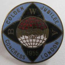 GREAT BRITAIN - GOLDEN JUBILEE CONGRESS - LONDON 1955 - RARO DISTINTIVO