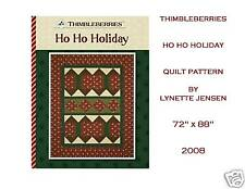 NEW! CUTE! Thimbleberries HO HO HOLIDAY Quilt Pattern