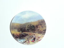 Country Life By The River on MOP Mother of Pearl Shank Button - 1-3/8""