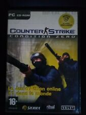 Counter strike Condition Zéro PC 2004 Complet inclus vidéo bonus de half life 2