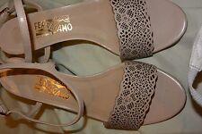 Authentic FERRAGAMO sandal worn twice