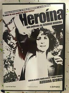 HEROINA  DVD GERARDO HERRERO ADRIANA OZORES JAVIER PEREIRA BOUZAS AM