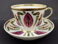 Paris Tea Cup & Saucer, Possibly Dagoty
