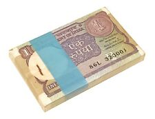 INDIA 1 RUPEE UNC SERIES B BUNDLE OF (100 PCS)