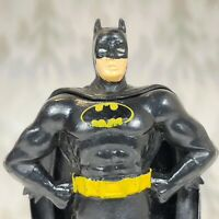 Vintage 1989 DC Comics Batman Figure 3.5 Inches Hands On Hips PVC Toy Applause
