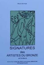 FRENCH BOOK : Signatures of Artists and Bronze Foundry from 19th Century (stamps