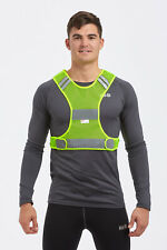 High Visibility Lightweight Reflective Running/Cycling/Walking Bib Vest Yellow