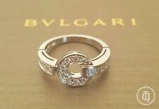 Bvlgari Bulgari 0.50tcw Diamond and 18ct White Gold Engagement/Anniversary Ring