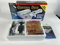 NES Nintendo control deck vintage AS IS untested w/ racer mate interface module