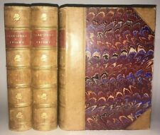 LEATHER Set;WORKS OF WILLIAM SHAKESPEARE!Gorgeous Antiquarian Complete Gift 1893