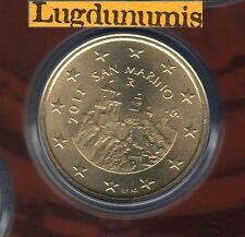 Saint Marin 2011 - 50 Centimes D'Euro - 48 000 exemplaires Provenant du BU RARE