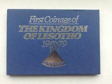 1979 FIRST COINAGE KINGDOM OF LESOTHO PROOF SET