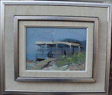 Arne Aspelin 1911 - 1990, al lago in Spagna per 1960/70