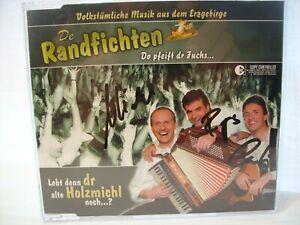 Lebt denn der alte Holzmichel noch  CD (2004) mit Autogramme