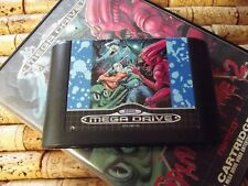 RARE SEGA MEGA DRIVE GAME SPLATTERHOUSE 2 - VINTAGE NAMCO 1992 - BOXED NO MANUAL