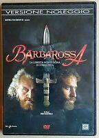 BARBAROSSA (2009) un film di Renzo Martinelli - DVD USATO - RAI/01