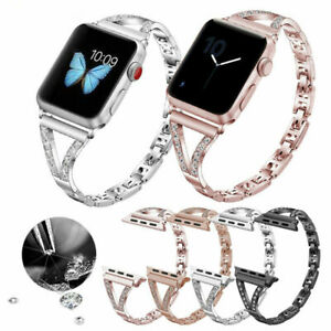 For Fitbit Versa / Lite / Versa 2 Diamond Watch Wristband Strap Replace Bracelet