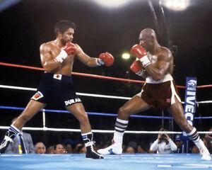 1983 ROBERTO DURAN vs MARVELOUS MARVIN HAGLER 8x10 Photo Poster Glossy Print