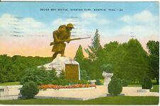 Memphis, TN The Doughboy Statue in Overton Park  1947