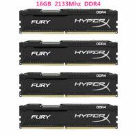 16Go 32GB 64GB DDR4 2133MHz PC4-17000 Pour Hyperx Fury DIMM Desktop Mémoire DL