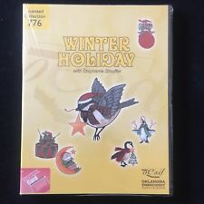 Winter Holiday Embroidery Designs Card #776 for Deco Brother Baby Lock White