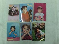 VINTAGE: 6 cartes postales PORTRAITS