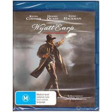 BLU-RAY WYATT EARP Kevin Costner Action Biography Special Features REGION B[BNS]