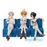 SEGA The Promised Neverland Premium Figure Emma Norman Ray set Anime 2019 Used