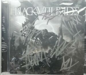 BLACK VEIL BRIDES - CD SIGNED BY BAND & SEALED