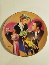 "I Love Lucy ""LUCY MEETS ORSON WELLES"" Collector Plate w/COA NIB"