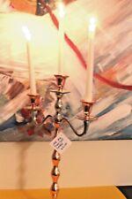 Handmade Metal Traditional 3-Arm Candelabra Home Decor Copper Nickel H 52cm NEW