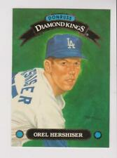 1993 Donruss Diamond Kings #DK-14 Orel Hershiser card, Los Angeles Dodgers