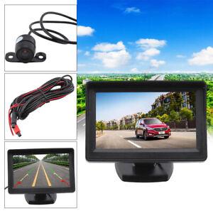 "4.3""  LCD Monitor + Reversing Camera 170°Car Rear View Kit For Car Bus Truck"