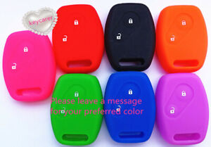 SILICONE 2 BUTTON KEYCOVER fits HONDA JAZZ CITY CIVIC ACCORD ODYSSEY