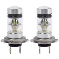 5X(1 Pair High Power LED H7 Bulb 100W 20LED Car Fog Light Lamp Headlights T4W4)