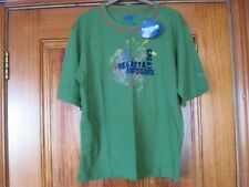 Regatta Boy's Age 11-12 Green 100% Cotton T-Shirt Brand New With Tags