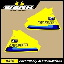 SUZUKI RM250 RM400 1979-80 EVO MX DECALS TANK GRAPHICS STICKERS OEM 1980 DG