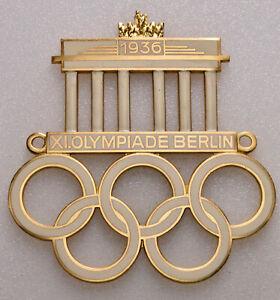 Automobil-Plakette 1936, 11. Olympiade Berlin, von C. Poellath