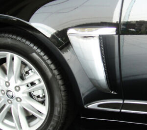 Jaguar XF Chrome Side Vent Trim