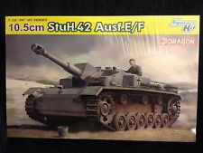 1/35 German 10,5cm StuH.42 Ausf. E/F ~ NEW 2016 Smart Kit Dragon DML #6834