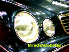 1995-2002 MERCEDES BENZ W210 E-CLASS (4 PCS) CHROME HEADLIGHT TRIM SURROUNDS