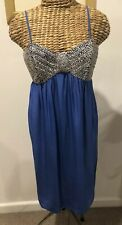 STUNNING RACHEL GILBERT DRESS SIZE 2  AU 10 US 6 WORN ONCE BUT LOST CRYSTALS