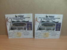 More details for fa cup final wembley 1991 two ticket stubs tottenham hotspur nottingham forest