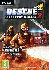 RESCUE 2 (PC-DVD) BRAND NEW SEALED FIRE FIGHTERS