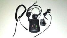 Plantronics HW261N Headsets &  AP15 Audio Proc. w AC Power + Cords