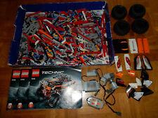 Lego ® Technic Roue 94.8x44r Pneus 4 Pièces Avec Noir Jante 44772c02 de 9398