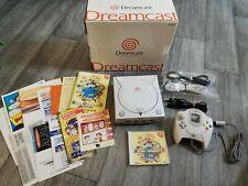 SEGA DREAMCAST CONSOLE & CONTROLLER - NTSC-J JAPAN JAPANESE - BOXED & COMPLETE