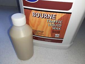 Natural Bourne Traffic Liquid Wax Floor Wax Cleans & Protects 250ML