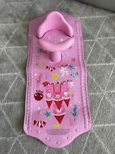 Pink Girls Aqua Pod non slip bath Safety mat & seat by Mother care