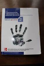 MATEMÁTICAS 2º BACHILLERATO  - MC GRAW HILL (CIENCIAS SOCIALES)